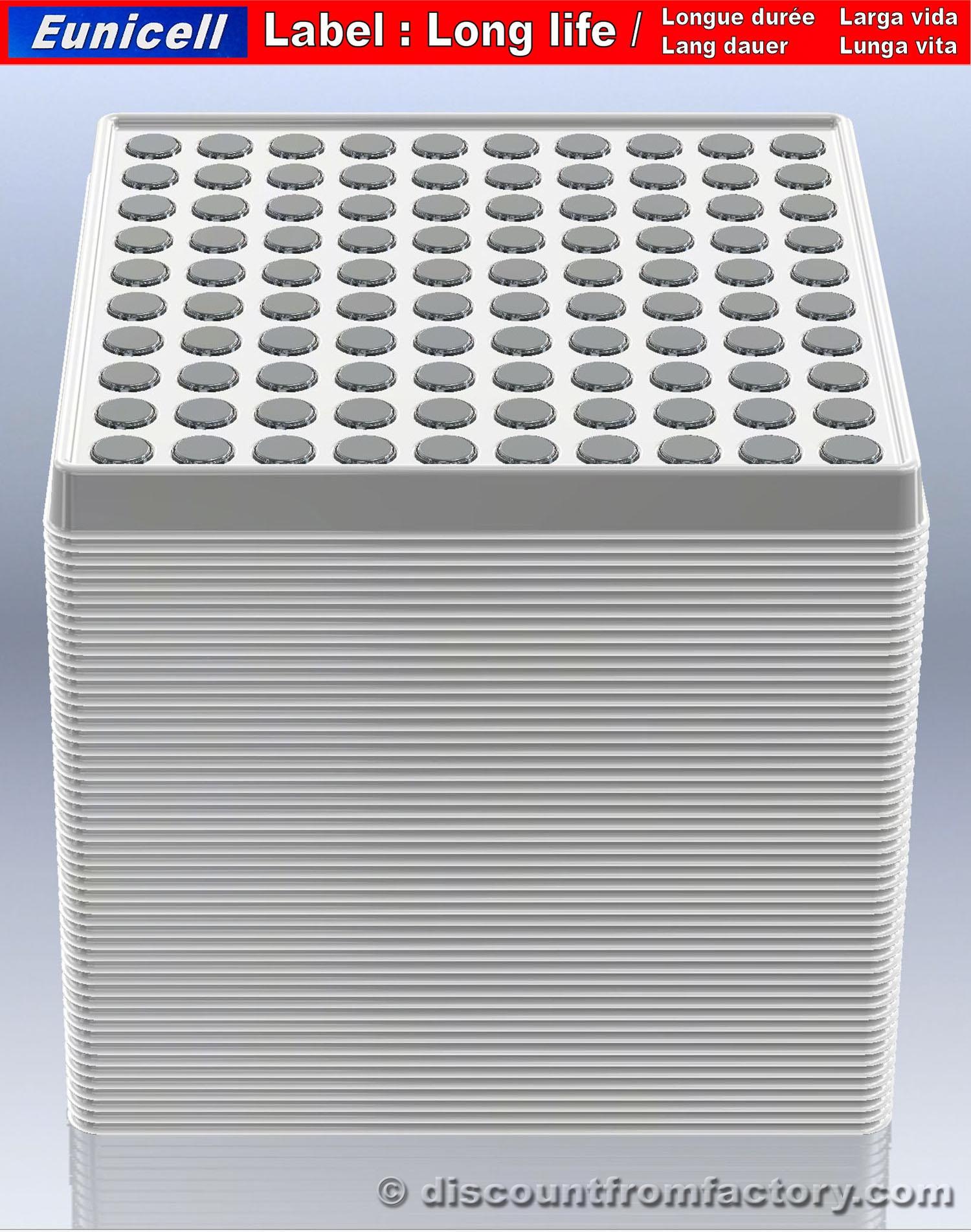 Lot-de-1000-piles-Bouton-Alcalines-AG13-100-compatible-avec-Kodak-KX675