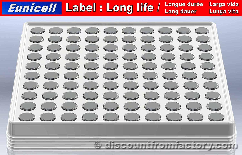 500 piles bouton alcalines ag12 compatible avec rayovac 301 ebay. Black Bedroom Furniture Sets. Home Design Ideas