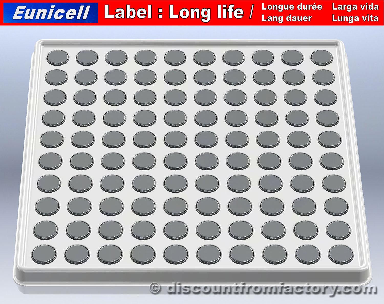 100 piles bouton alcalines ag10 compatible avec rayovac 389 ebay. Black Bedroom Furniture Sets. Home Design Ideas