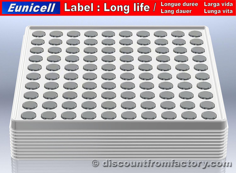 1000 piles bouton alcalines ag10 compatible avec wl 10. Black Bedroom Furniture Sets. Home Design Ideas
