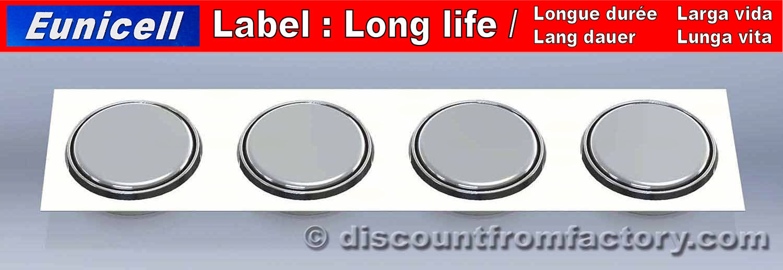 4 piles bouton alcalines ag10 compatible avec sr1130w. Black Bedroom Furniture Sets. Home Design Ideas